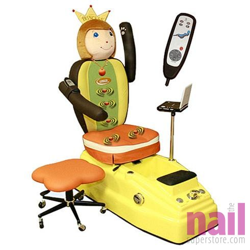Pedicure For Kids : Luraco Mini Pedicure Spa Chair For Children and Kids - The Nail .